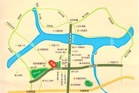 金坤雍景园交通图
