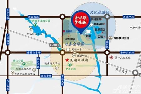 新华联梦想城交通图
