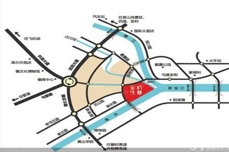 黎阳in巷交通图