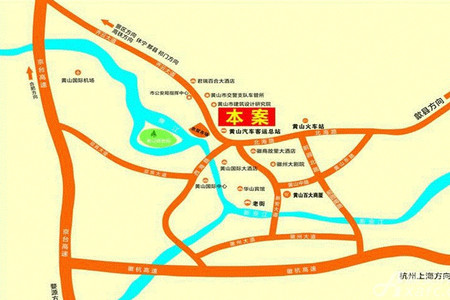 长运家园北苑交通图