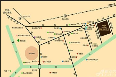 绿地滨江壹号交通图
