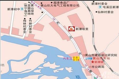 新潭故里交通图