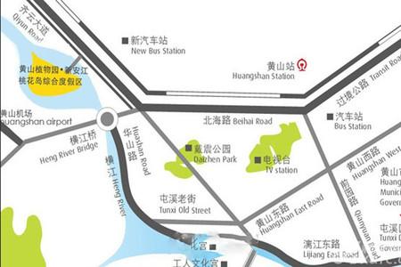 远洋桃花岛交通图