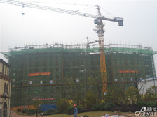 高速铜都天地高速铜都天地2#公寓10月项目进度