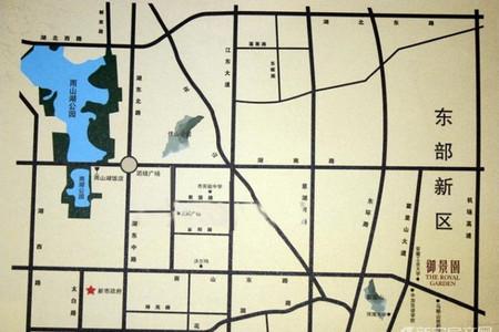 御景园香山红郡交通图