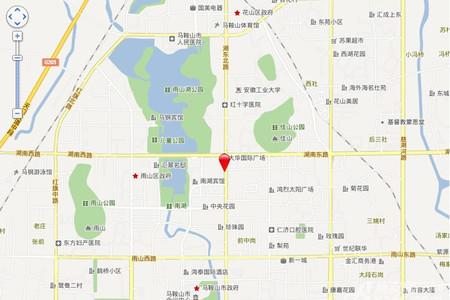 大华锦绣国际交通图