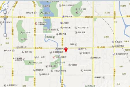 宝龙华庭交通图