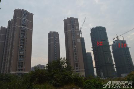 钱江江畔尚城工程进度