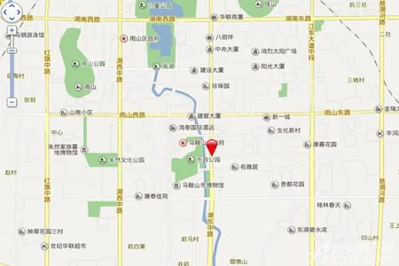 聚峰世家交通图
