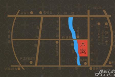 东一城交通图