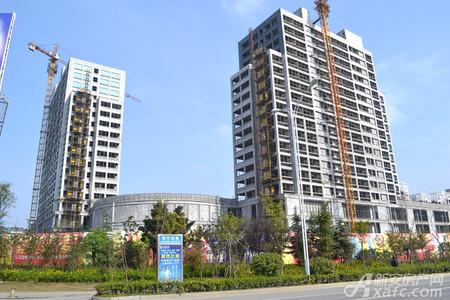 中州国际广场工程进度