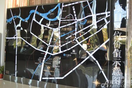 亚夏润南全球汽车文化财富广场交通图