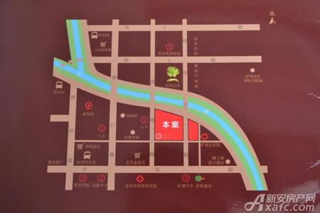 安厦帝景名都交通图