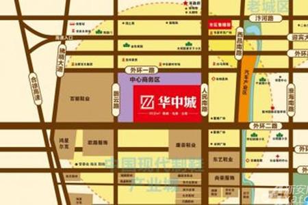 华中城交通图