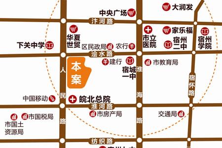 锦润悦府交通图