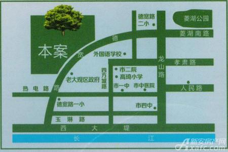 马山国际广场交通图