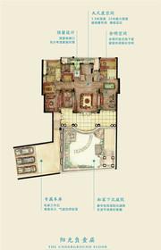 新华御湖庄园独栋别墅-1层户型3室2厅273㎡