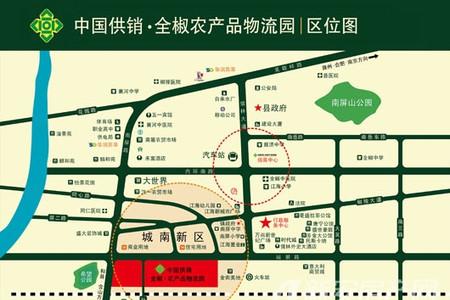 中国供销全椒农产品物流园交通图